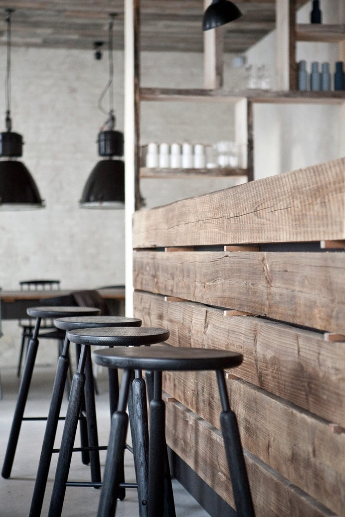 Host Restaurant – Rustic Scandinavian Interior by Norm Architects