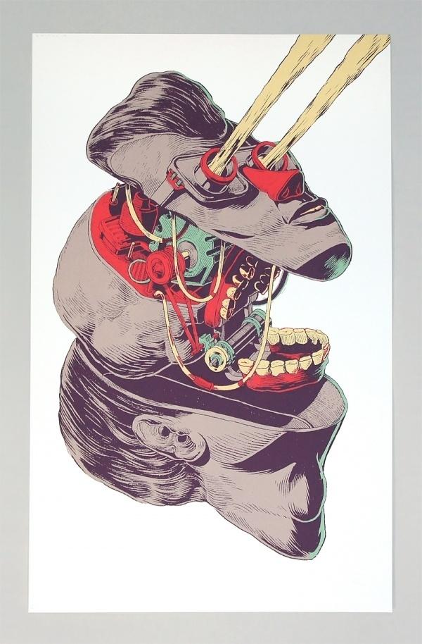 Smithe • Mantenimiento / Serigrafía (80X50c.m.) / 100... #illustration