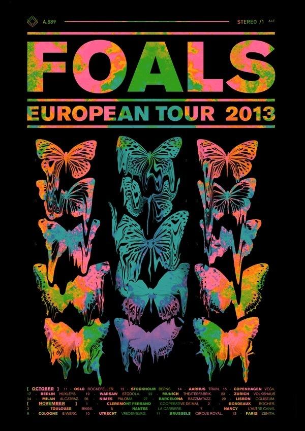 FOALS // Tour Dates #foals