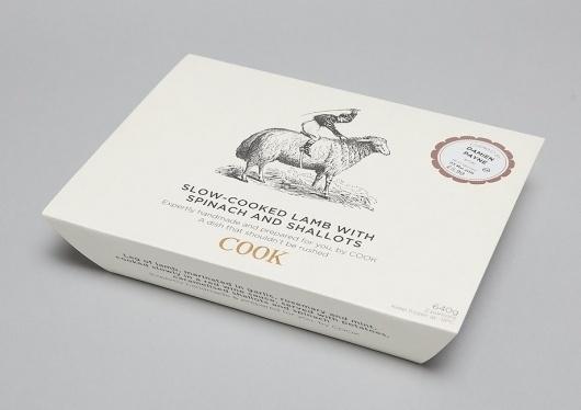 COOK - Packaging - LOVE - Advertising, Design and Digital things #packaging