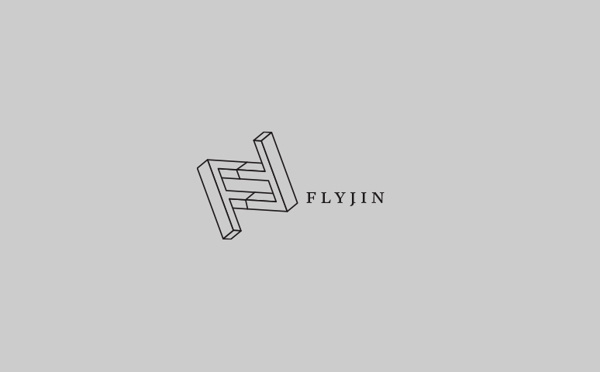 Brasserie Flyjin by Pointbarre #flyjin #design #brasserie #montral #logo