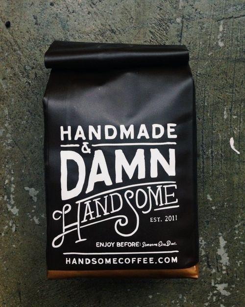 Handmade & Damn HandSome #inspiration #packaging #design #graphic #handmade