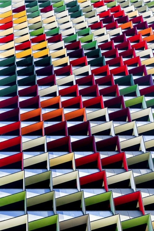CJWHO ™ (Architectual Photography By Jared Lim) #design #lim #jared #colors #photography #architecture #rainbow