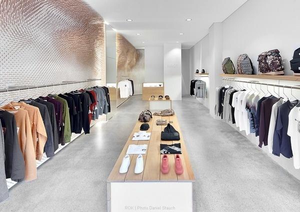 MRQT Boutique by ROK #interior #minimalist #minimal #minimalism