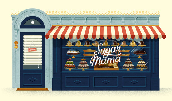 Sugar Mama #illustracion