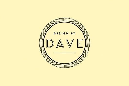 Design By Dave / Design & Art Direction #logo