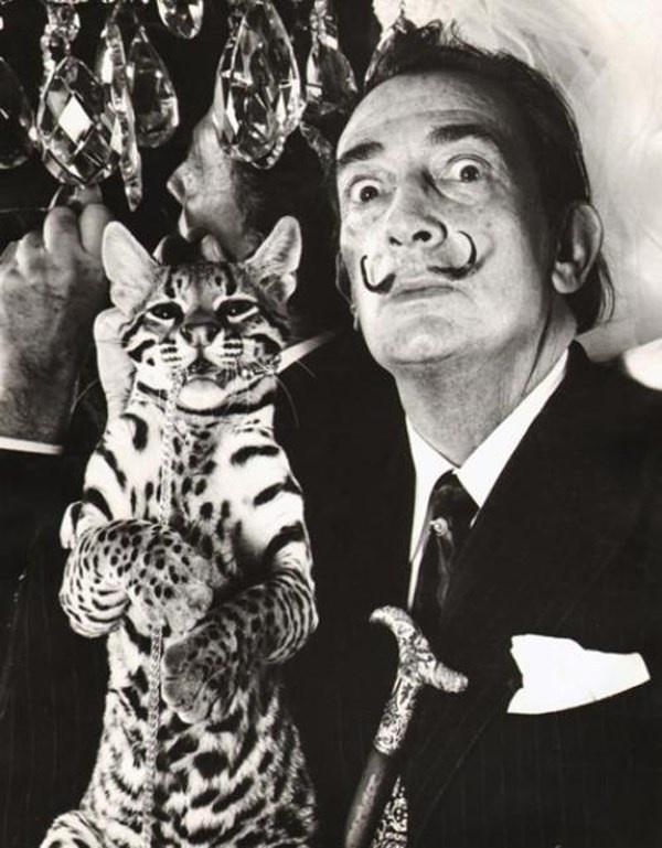 Dalí and Babou, 1965