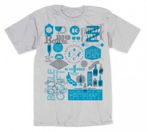 Bottle Craft #apparel #draw #tshirt #shirt #illustration #hand