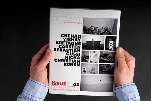 - D I P L O M A R B E I T - #soi #chez #editorial #magazin
