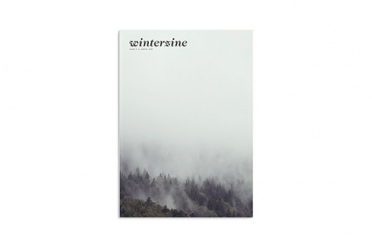 winterzine - DLA #pach #jochen #design #graphic #photography #nature #winterzine #trees #magazine