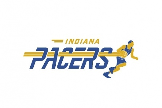 NBA team logo redesigns – Michael Weinstein Design #pacers #indiana #redesign #logo #nba #basketball