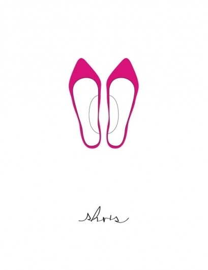 Branching Out #illustration #shoes #poster