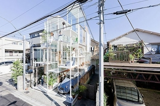 Transparent House by Sou Fujimoto Architects | 123 Inspiration #architects #transparent #fujimoto #sou