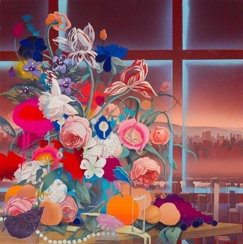 Robert Minervini   PICDIT #flower #painting #colour #art