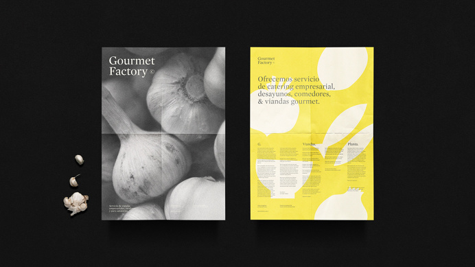 Gourmet Factory on Behance