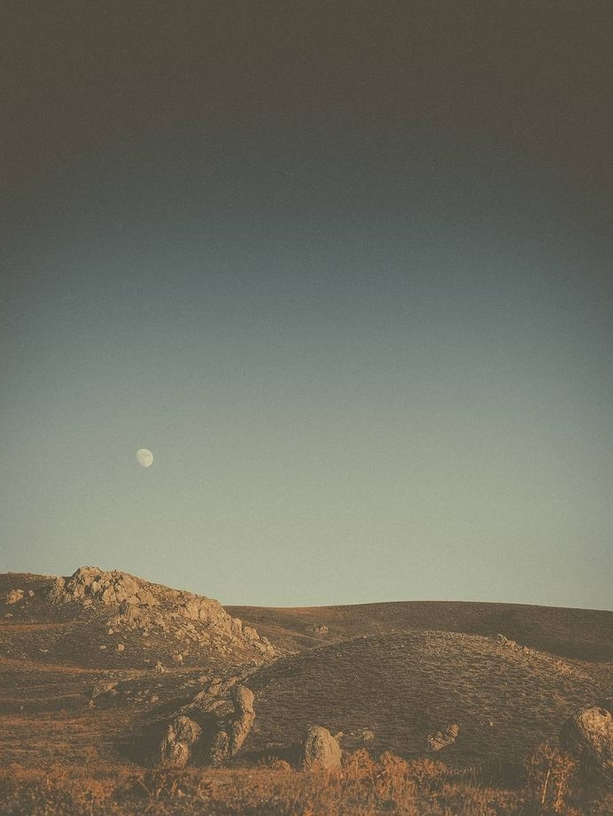 Moon #limited #edition #hill #print #landscape #knoll #photography #moon