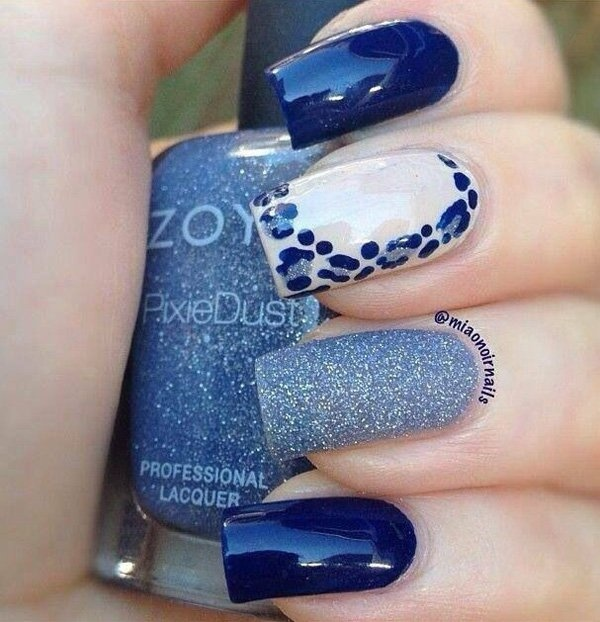 Best Nail Designs 50 Blue Art Images On Designspiration