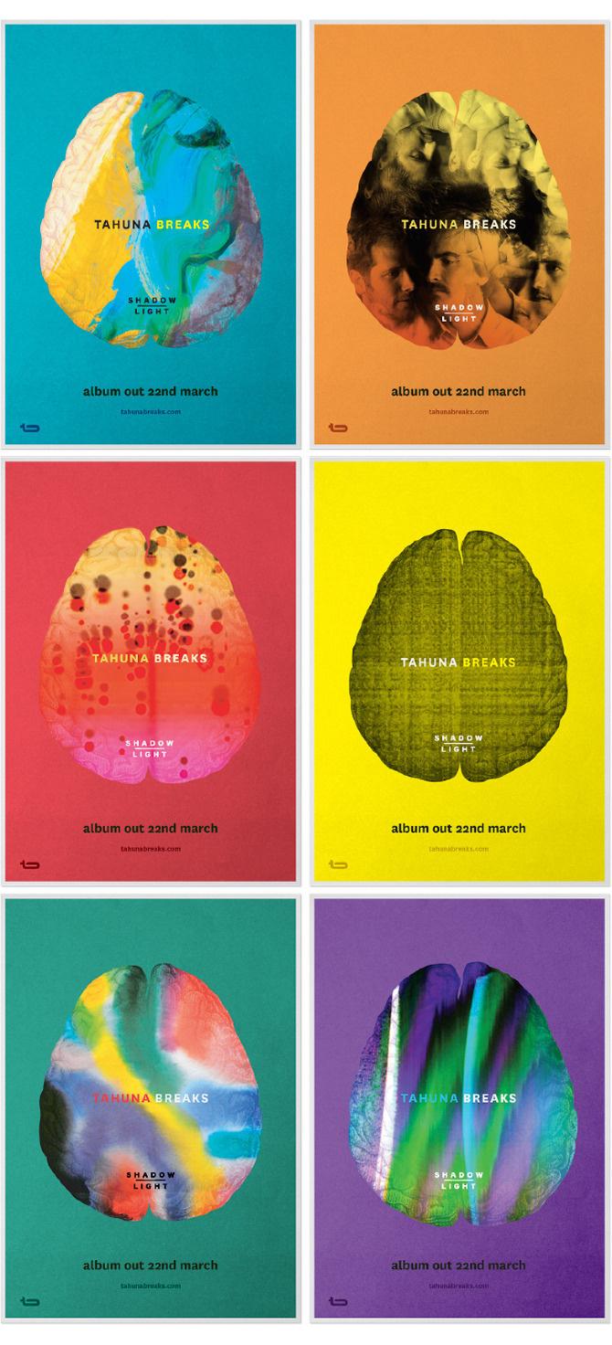 Tahuna Breaks - Marx - Packaging & Branding #tahuna #poster #music #beat #breaks