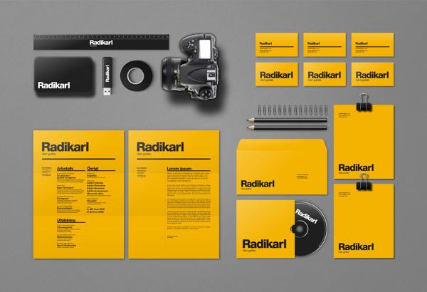 Radikarl / Self promotion on Branding Served #identity
