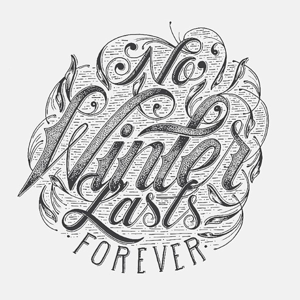 Beautiful Hand drawn Typography by Raul Alejandro #drawn #hand #typography