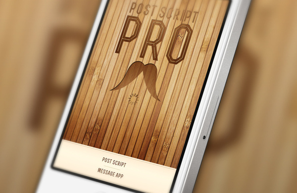Post Script Pro | iOS Interface Design #apple #ux #application #interface #app #ios