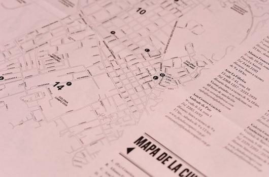 ambushstudio / Bench.li #magazine #book #map #typography