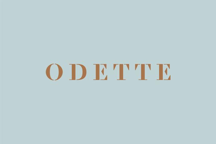 odette branding patisserie warsaw poland beautiful minimal corporate design copper foil macarons best design inspiration designblog www.mind