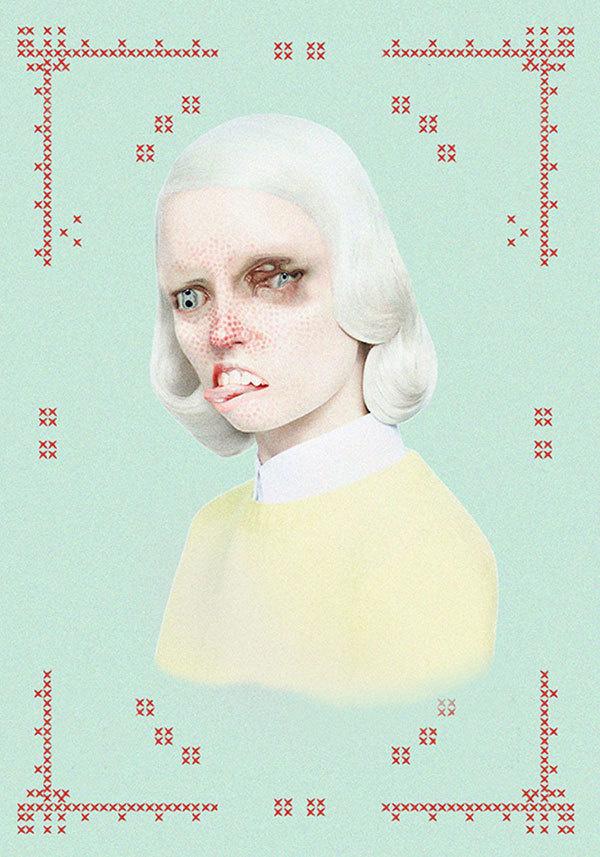 merve-morkoc #illustration #girl