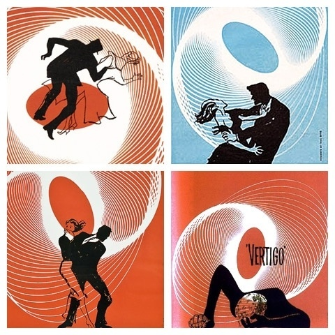 Saul Bass' Vertigo movie poster | Annyas.com design blog #bass #saul #retro #poster