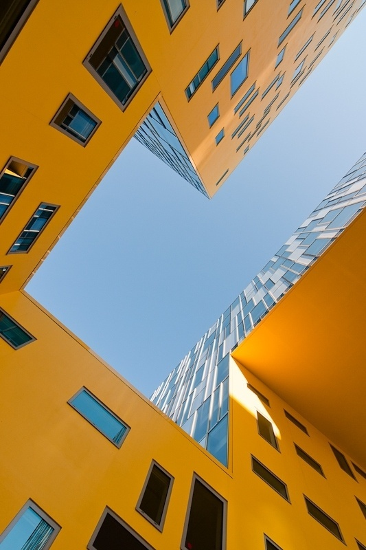 500px / Photo #yellow #geometry #photography #architecture