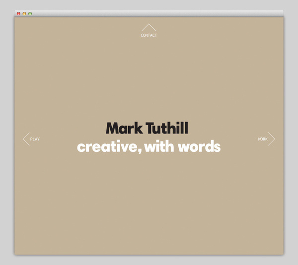 Mark Tuthill #website #layout #design #web