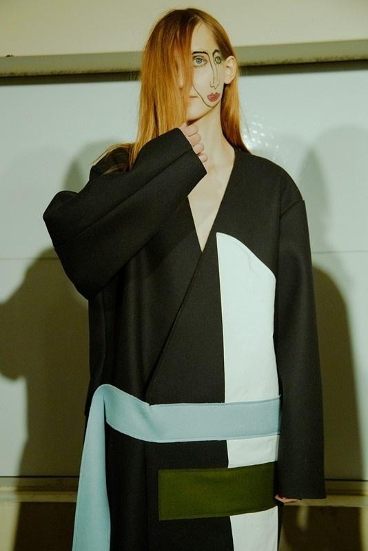 Jacquemus AW15, Dazed backstage, Womenswear, Paris #fashion #face #body #art