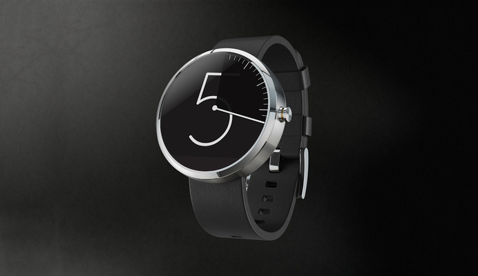The 10 best designs for the Moto 360 watch face | The Verge - Layton Damiens #design #watch #clock #face #wrist