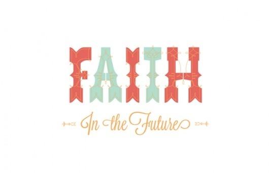 A Sweet Spirit: Faith in the Future #faith #mint #spring #future #typography