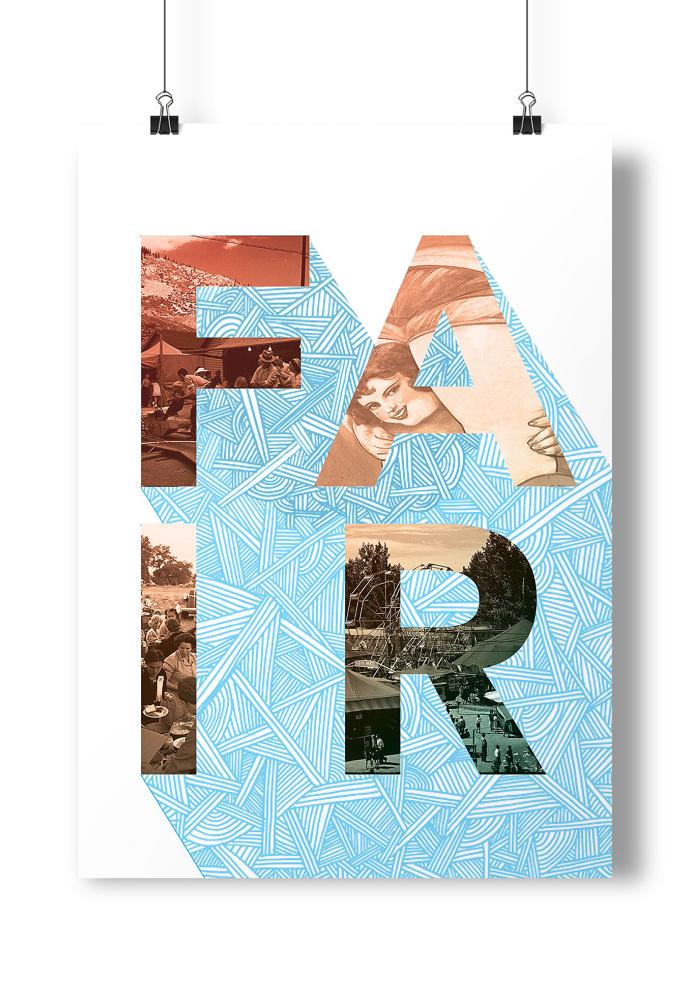#fair #ladies #type #design #illustration #poster