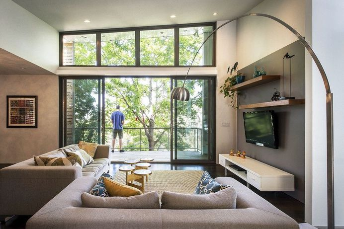 Modern Benches Home in Salt Lake City by Imbue Design 3