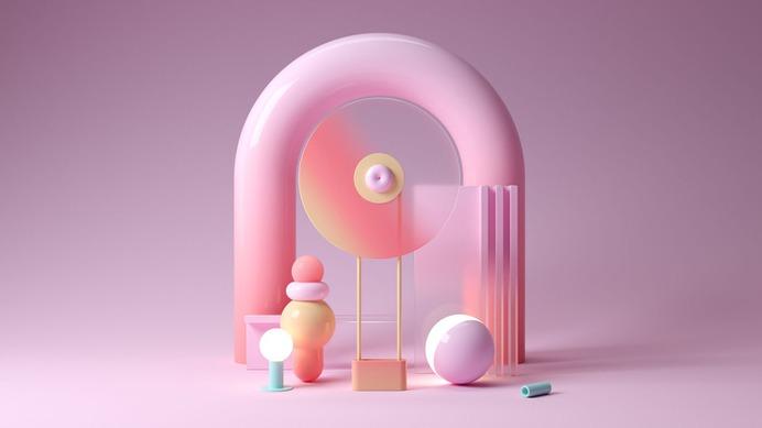 Colorful 3D Nooks - Mindsparkle Mag Colorful 3D Nooks is an exploration of shape, color and composition designed by Santi Zoraidez. #logo #packaging #identity #branding #design #color #photography #graphic #design #gallery #blog #project #mindsparkle #mag #beautiful #portfolio #designer