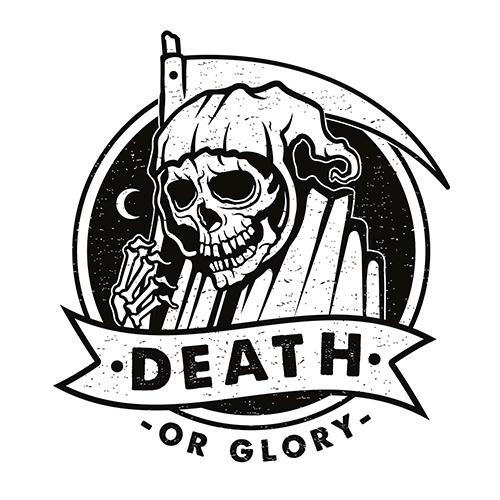 ENDOR DESIGNS LOGO #logo #branding #illustration #reaper #tattooart #endordesigns
