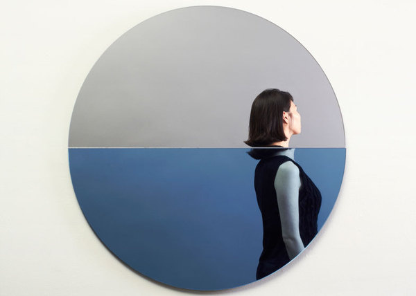 Fathom Mirror commemorating Hurricane Sandy by Joe Doucet #mirror #water #under