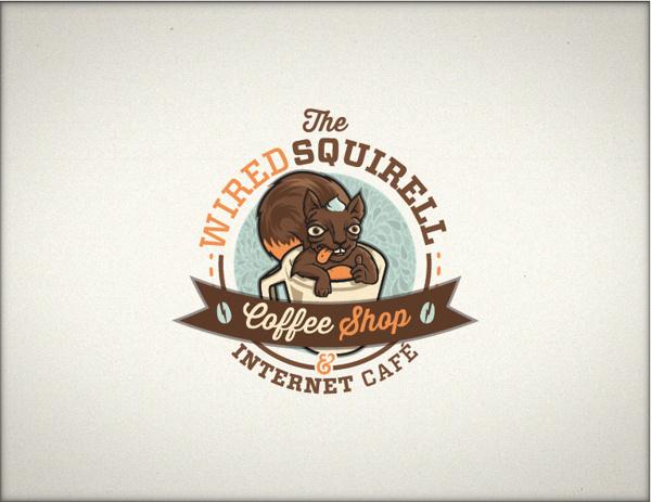 Best Wired Logofolio Squirrell Taza Squirrel images on Designspiration