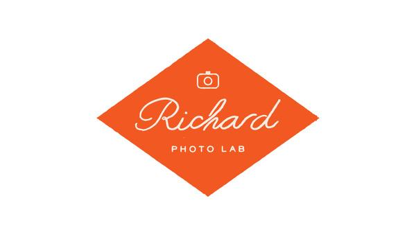 Richard Photo Lab by Matchstic | Allan Peters' Blog #logo #diamond #rhombus