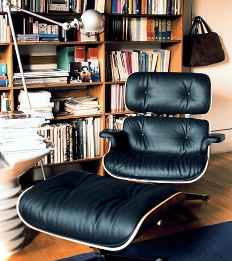 Behind the Scenes, as the Famed Eames Lounger Is Made [Video] | Co.Design #miller #chair #lounge #herman #eames