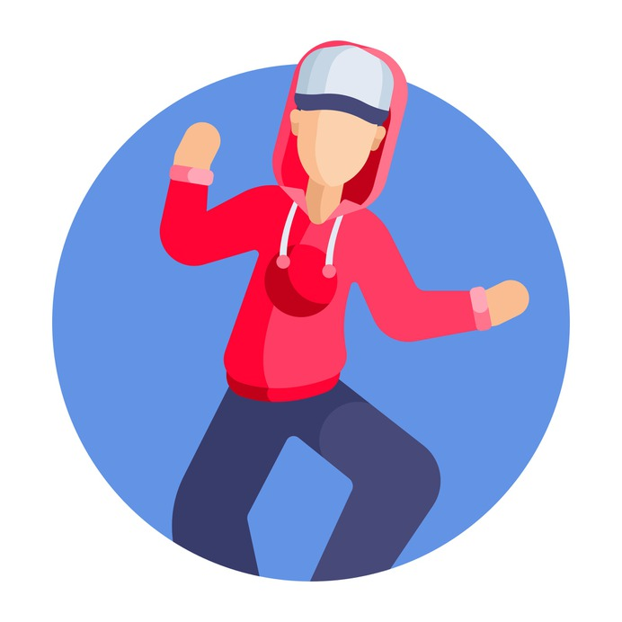 See more icon inspiration related to fun, peple, street dance, art and design, dance, dancer, dancing, celebration, urban, flow, party and people on Flaticon.
