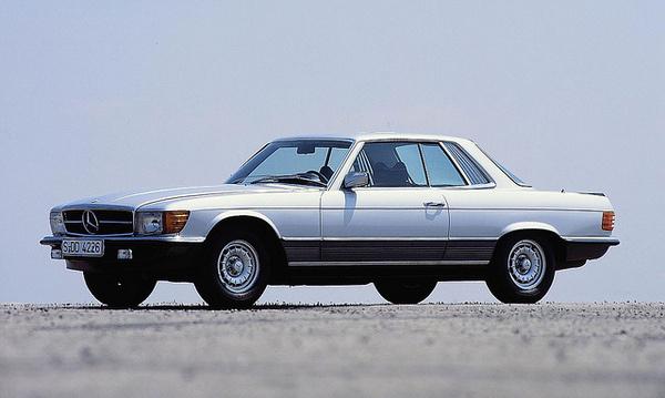 Mercedes-Benz SLC (107 series, 1971–1981) #coupe #auto