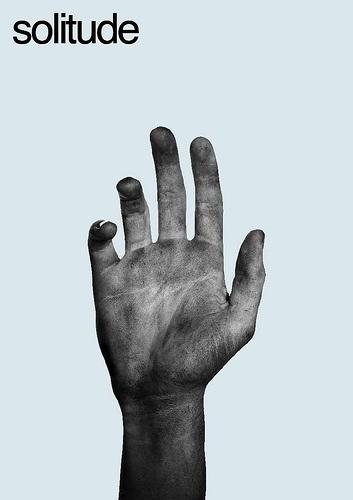 Solitude | Flickr - Photo Sharing! #solitude #design #graphic #hand