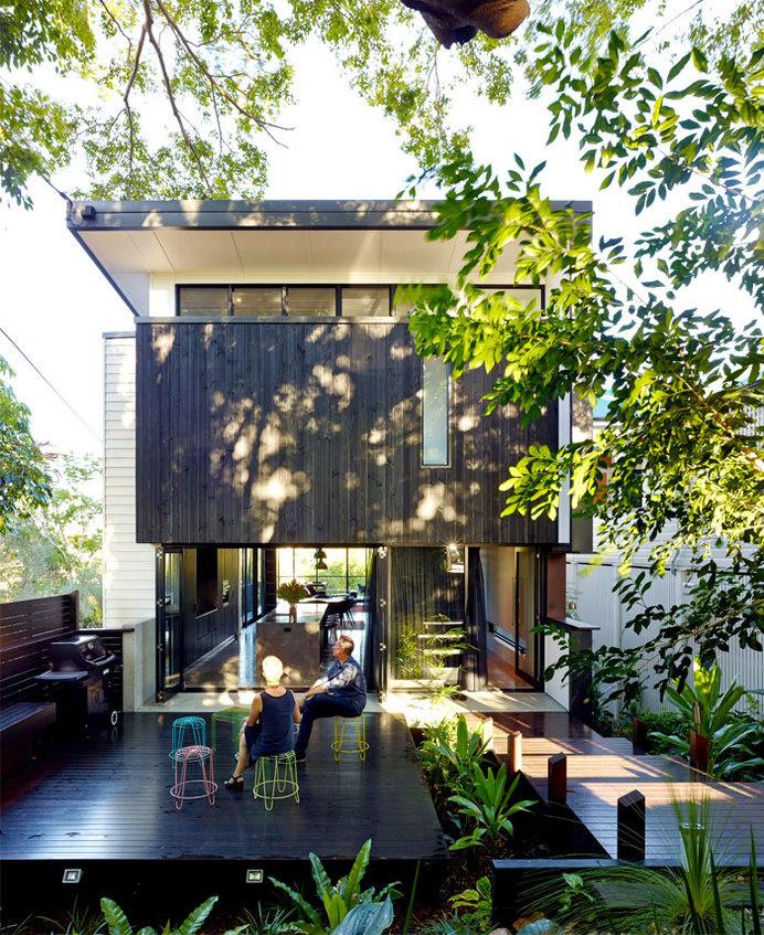 Australian Paddington Residence by Ellivo Architects Studio modern australian suburban culture architecture #design #architecture #house
