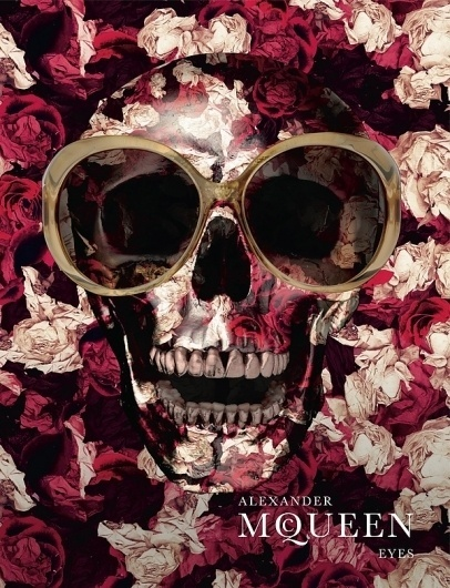 Jesus, that is cool. #print #alexander #mcqueen #ad #fashion