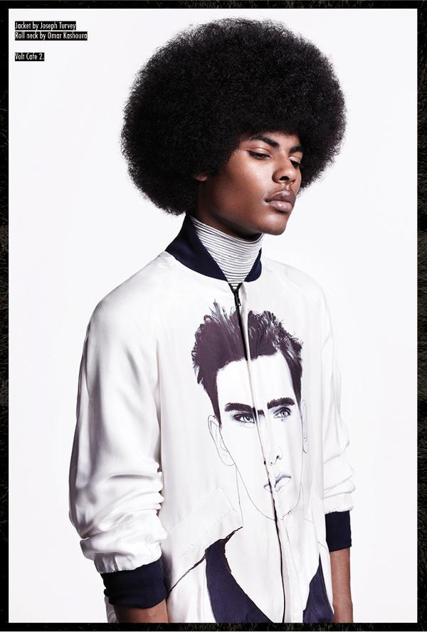 Joseph Turvey illustrated jacket #cynthia #shields #photography #john #joseph #lawrence #stylist #ross #turvey