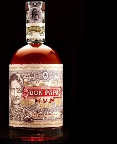 donpapa1.jpg (400×490) #packaging #design #booze #typography