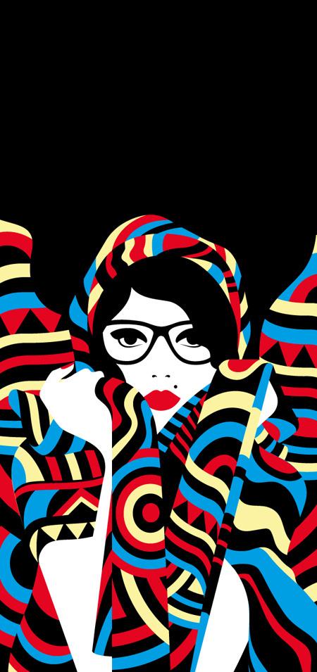 SHOP Naples Malika Favre #vector #design #graphic #malika #cover #favre #illustration